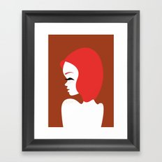 Freckled Framed Art Print