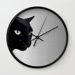 Panther Breath Wall Clock