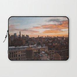 Autumn sunset Laptop Sleeve
