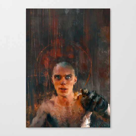 Nux Mad Max Canvas Print
