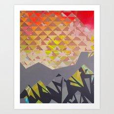 Mountain Landscape 1 Art Print