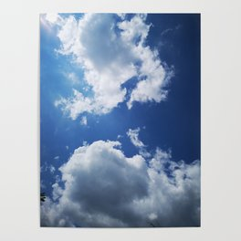 clouds/approaching Poster