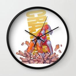 Crash 2 Wall Clock