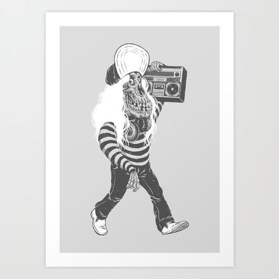 Old so Cool Art Print
