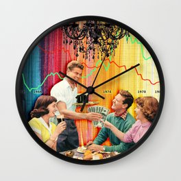 Conspicuous Consumption Wall Clock