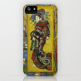 Van Gogh - Courtesan (after Eisen) iPhone Case