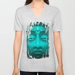 Buddha I. Unisex V-Neck
