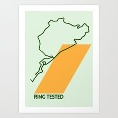 Drive - Ring Tested Art Print