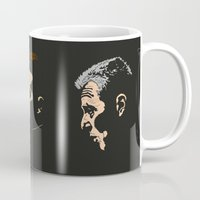 godfather Mugs featuring Michael Corleone - The Godfather Part I by Tomcert