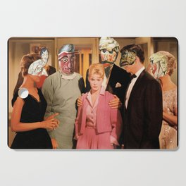Mask Party Cutting Board