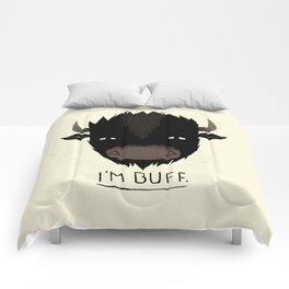 Buff. Comforters