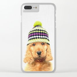 PUPPY PAPIKO Clear iPhone Case