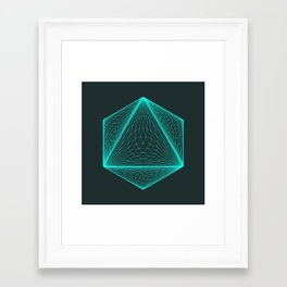Isotomic Framed Art Print