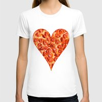 pizza T-shirts featuring PIZZA by Good Sense