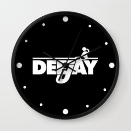 DeeJay 2 Music Quote Wall Clock
