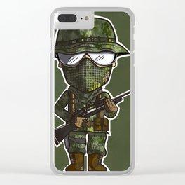 Snipi Clear iPhone Case
