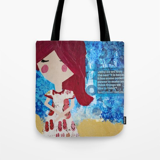 Why do we love the sea? Tote Bag