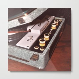 Tape Recorder Metal Print