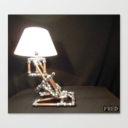 Articulated Desk Lamps - Copper and Chrome Collection - FredPereiraStudios_Page_18 Canvas Print