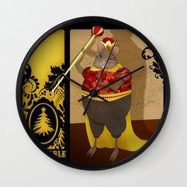 Despicable Rodent Wall Clock