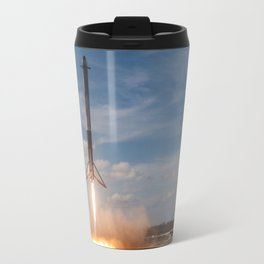 SpaceX Falcon Heavy launch (Double Booster Landing) Travel Mug