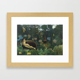 The Dream, Henri Rousseau Framed Art Print