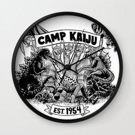 Camp Kaiju Wall Clock