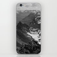 jon snow iPhone & iPod Skins featuring Archangel Valley by Kevin Russ