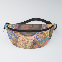 Black Madonna Poland Our Lady of Czestochowa Virgin Mary Christmas Gift Religion Fanny Pack