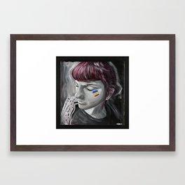 Greta 2 Framed Art Print