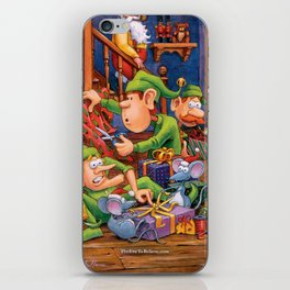 The Elves and Their Little Helpers iPhone Skin