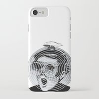 gamer iPhone & iPod Cases featuring anti gamer by KrisLeov