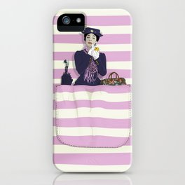 mary in the pocket iPhone Case