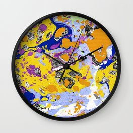 Marble texture 15 Wall Clock