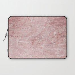 Blush Pink Marble Laptop Sleeve