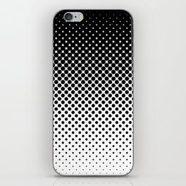 Halftone Gradient iPhone Skin