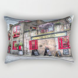The Anchor Pub London Rectangular Pillow