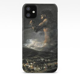 The Colossus - Goya iPhone Case