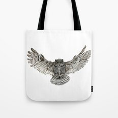 Inked flight Tote Bag