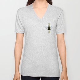Manchester Bee for Charity Unisex V-Neck