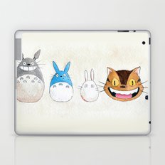 Make the Unlikeliest of Friends, Wherever You Go Laptop & iPad Skin