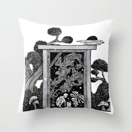 Why do fireflies have to die so soon? Throw Pillow