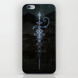Sigil to Invoke the Magic of Liminal Spaces iPhone Skin