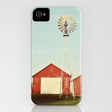 the red barn Slim Case iPhone (4, 4s)