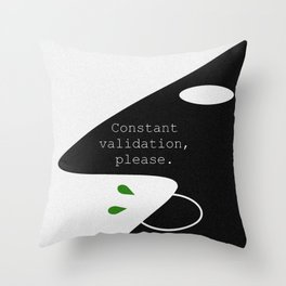 Validation Throw Pillow