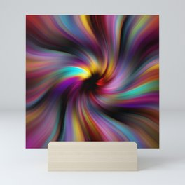 Abstract Fractal Background 6 Mini Art Print