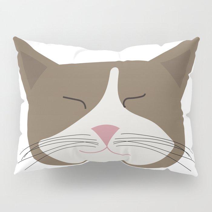 Family Cat Portraits, Zevik Pillow Sham