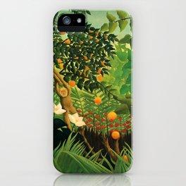 """Henri Rousseau """"Exotic landscape"""", 1910 iPhone Case"""