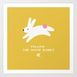 KAI Rabbits Art Print