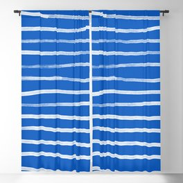Greek Island Summer Blackout Curtain
